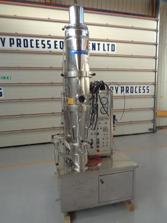 Niro model MP1 nerezová fluidní sušárna
