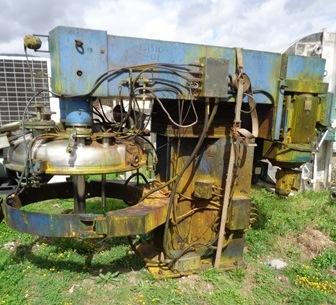 700 litrů, 48 kW, Molteni model MPME700SV-TDS nerezový vakuový mixer se třemi míchadly