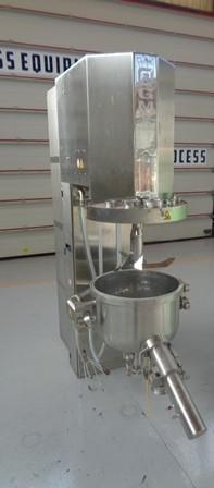 75 litrů, Vector model GMX-75 nerezový mixer-granulátor