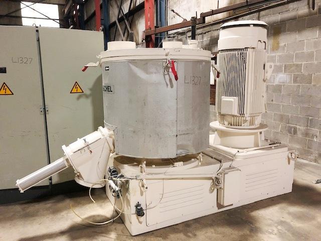 1000 litrů, Henschel model FM1000 nerezový rychloobrátkový mixer