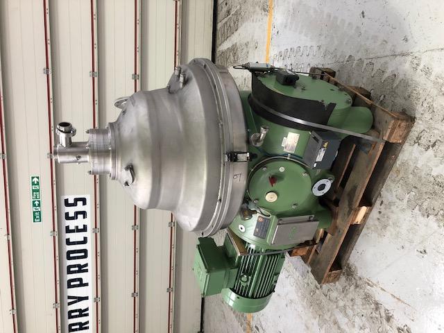 GEA Westfalia CSA 160-47-076 Separator Centrifuge
