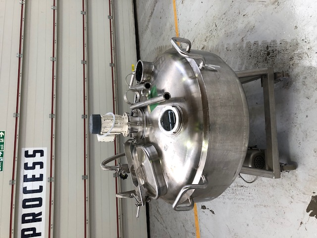 200 Litre Stainless Steel Vertical Mixing Vessel