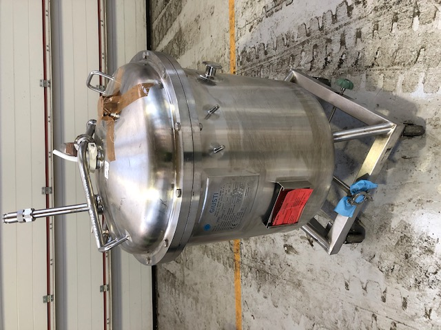 160 Litre Stainless Steel Vertical Storage Vessel