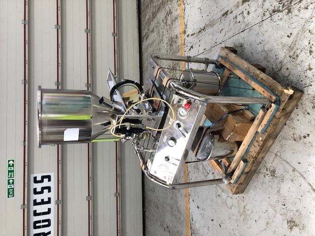 Jetpharma model MC JetMill 50 nerezový tryskový mlýn