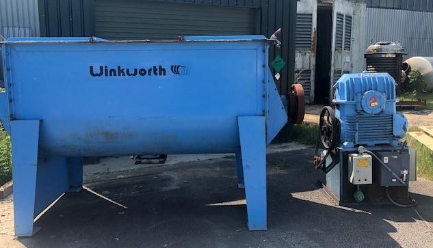 2000 litrů, Winkworth model FU42 spirálový míchač z běžné oceli