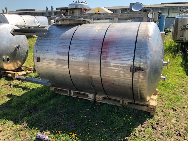 4,250 Litre 316L Stainless Steel Storage Vessel