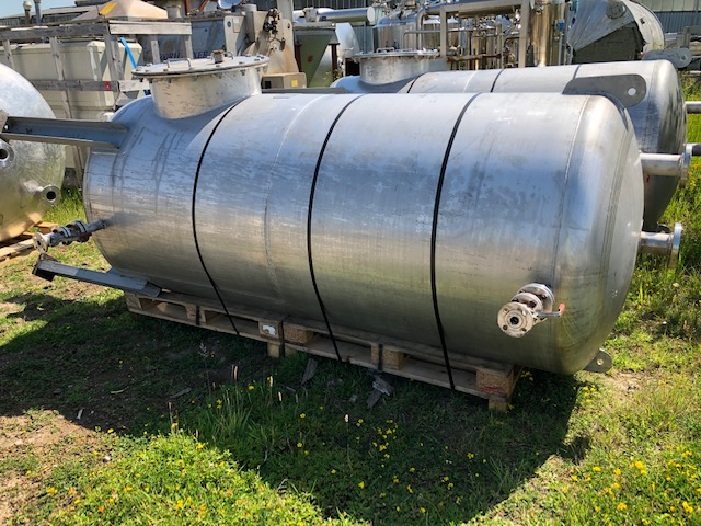 2,850 Litre 316L Stainless Steel Storage Vessel