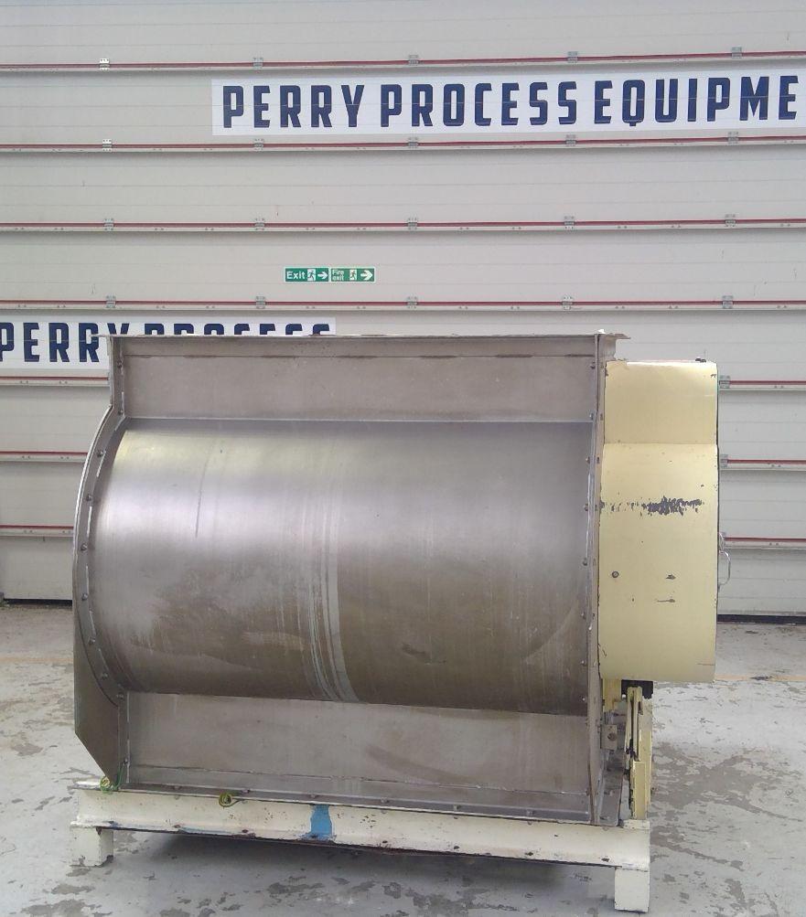 1000 litrů, Tatham nerezový dvouhřídelový lopatkový mixér