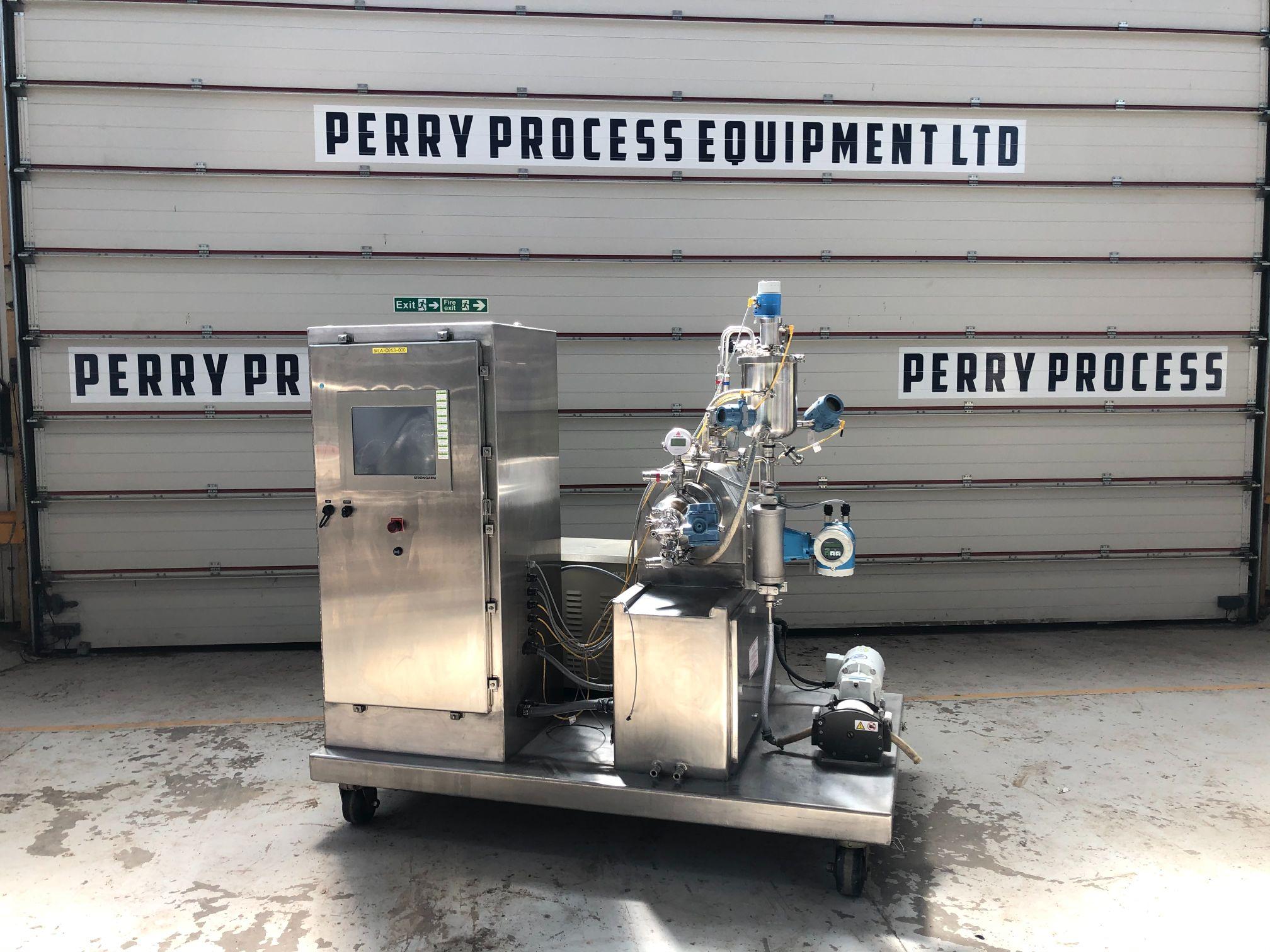 1 Gallon Netzsch LMZ2 S/S Bead Mill