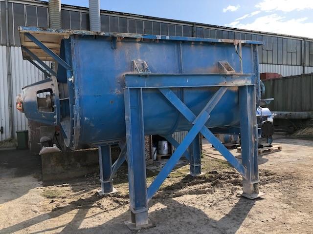 3000 litrů, spirálový míchač z běžné oceli