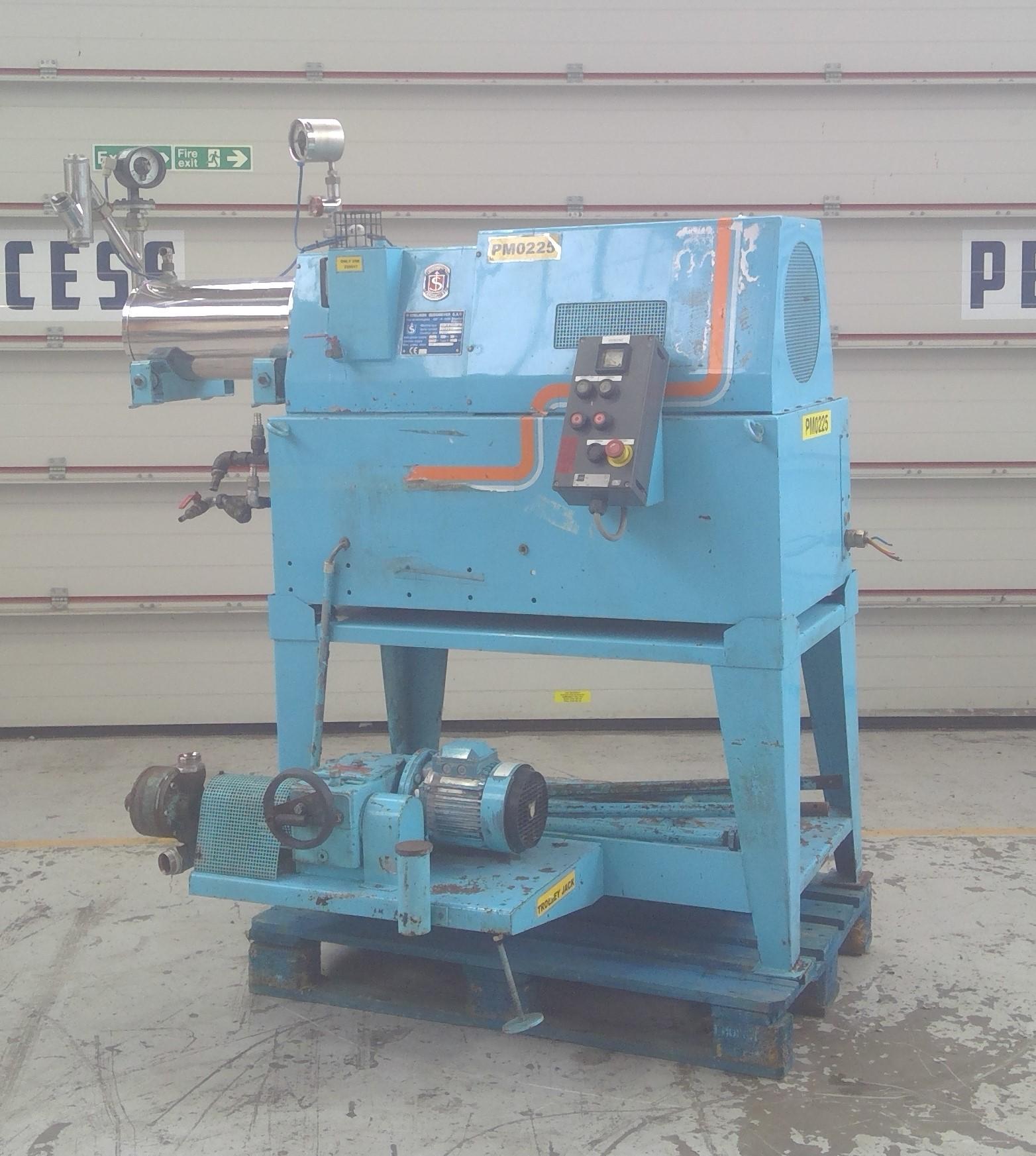 2 Gal Sussmeyer Model HM10EHP-1L Stainless Steel Bead Mill