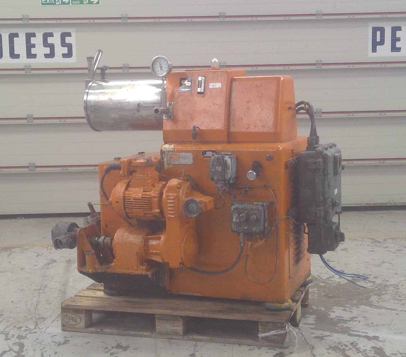 2 Gal Oliver & Batlle Model HM-10 Stainless Steel Bead Mill