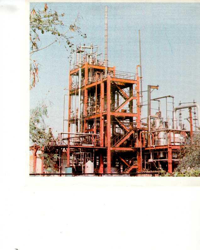 Maleic Anhydride Plant, 3600 Tons/Year