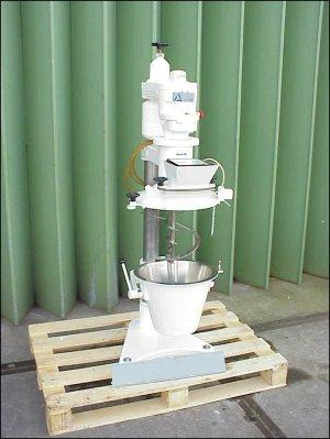 15 Litre Alpine Type K15L Stainless Steel Conical Ribbon Mixer