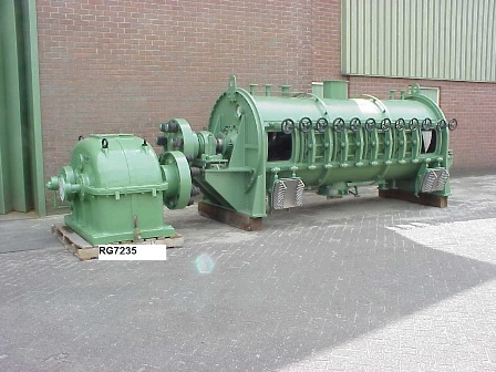 4200 Litre Lödige Model FKM 4200D SON 316TI Stainless Steel Ploughshare Mixer/Dryer