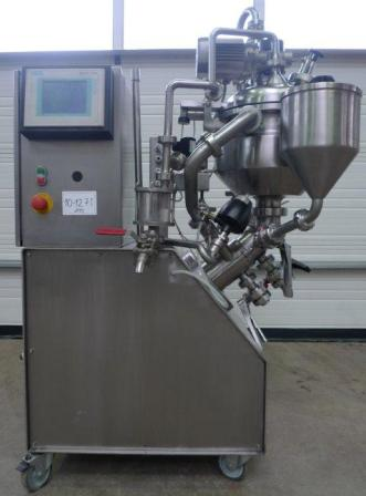 15 Litre 1 HP Stainless Steel Jacketed Vacuum Process Vessel