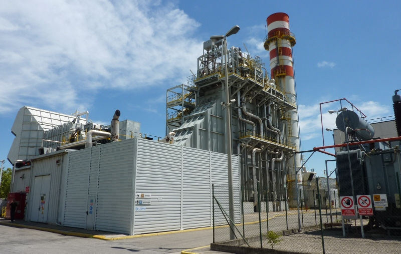 53000 kW 11000 Volts 50 Hz Combined Cycle Cogeneration Power Plant