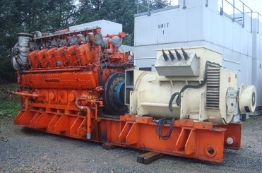 2400 KW 11000V 50HZ WAUKESHA COGEN PLANT         150000£-UK