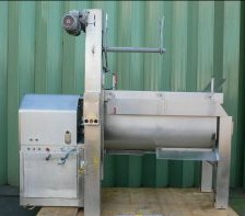 1,000 Litre Velati Milano Stainless Steel Double Shaft Paddle Mixer