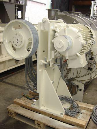 3300 Litre MTI Mischtechnik Model H-3300 PH 321 Stainless Steel T-Arm Mixer