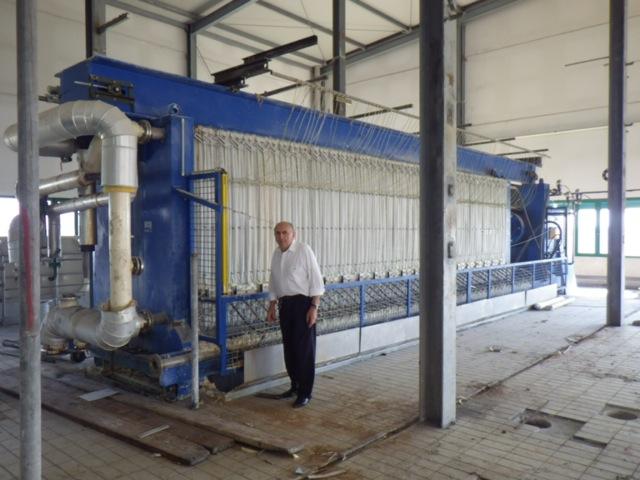 Welders NV Model OGFP-2000-86-50-9370-a-16 Polypropylene Plate Filter Press