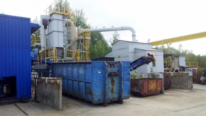 Metal Shredder Line, 3-5 Tons/Hr Foundry Scrap, 2-4 Tons/Hr Flexible Scrap