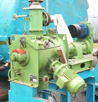 130 Litre Lödige Model FM130D1MZ Stainless Steel Ploughshare Batch Powder Mixer