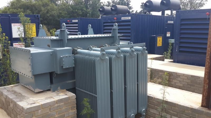 1100 kw Detroit Diesel Generator