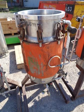 76 Litre, 6 Bar Internal, 6 Bar Jacket, Stainless Steel Reactor