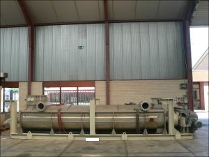 Kollemann Adenau Stainless Steel Jacketed Continuous Torus Disc Dryer