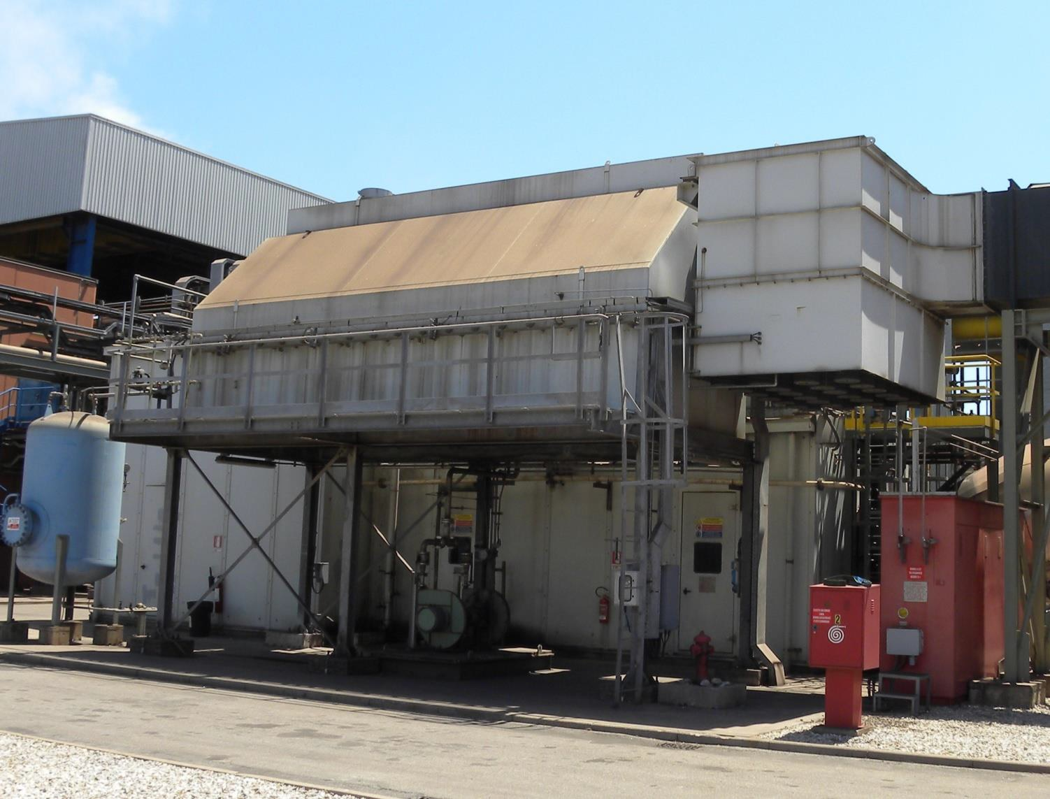58000 kW 11000 Volts 50 Hz Combined Cycle Cogeneration Power Plant