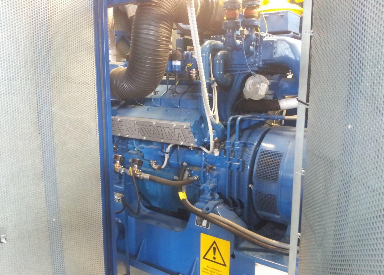 800 KW 380V 50HZ CHP MWM BIOGAS POWER PLANT    275000EU-LT