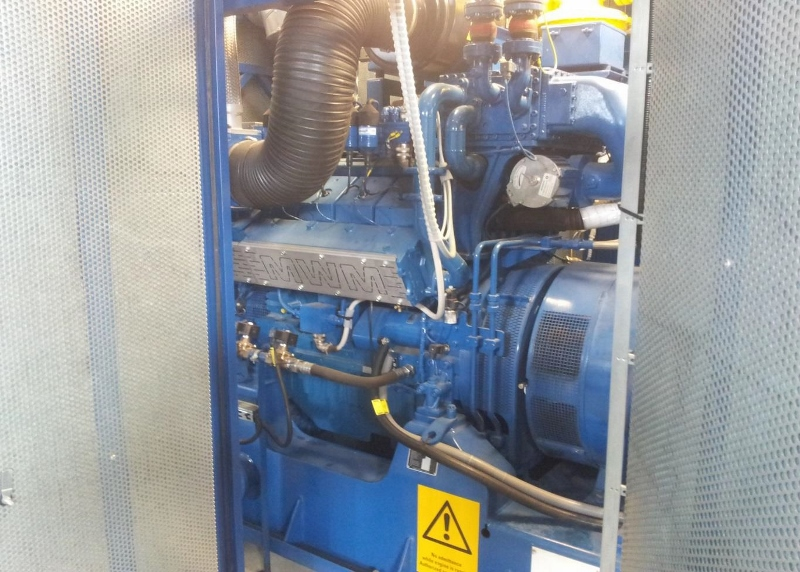 800 kW 380 Volts 50 Hz Biogas Power Plant