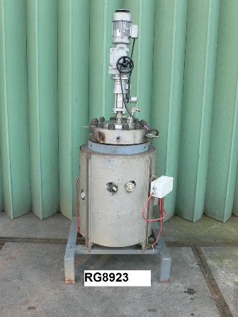 20 Litre, 300 Bar Internal, Stainless Steel Reactor