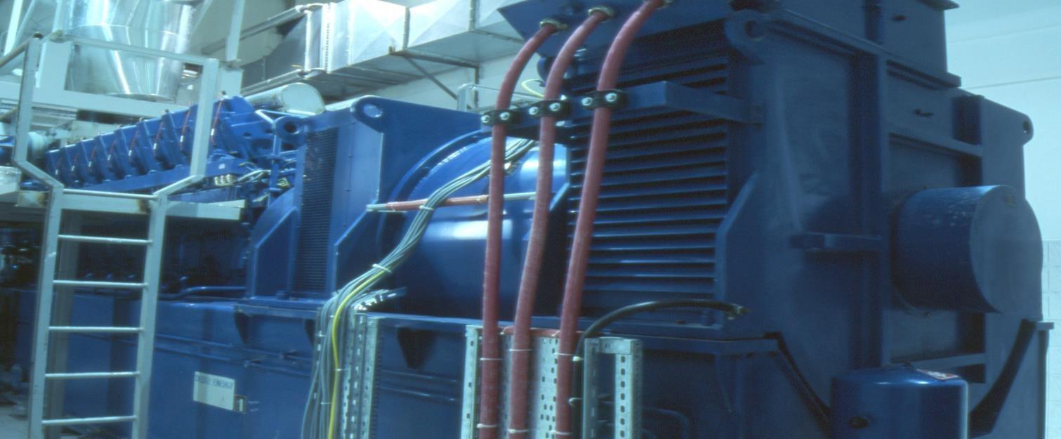 7832 kW 11000 Volts 50 Hz Deutz Cogeneration Plant