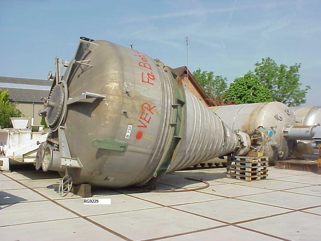 35,600 Litre Krauss Maffei Titus Stainless Steel Conical Mixer