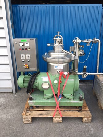Westfalia SA 14-47-076 Stainless Steel Clarifier Centrifuge
