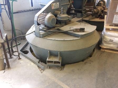 2,000 Litre Nauta Type MBX 20 S Mild Steel Conical Mixer