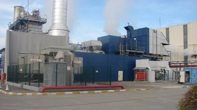 115000 kW 50Hz GE Power Plant