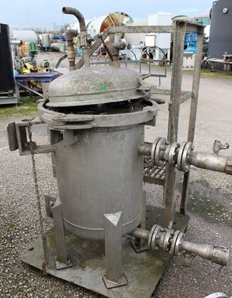 EATON STAINLESS STEEL IN LINE BAG FILTER           6000PS-UK