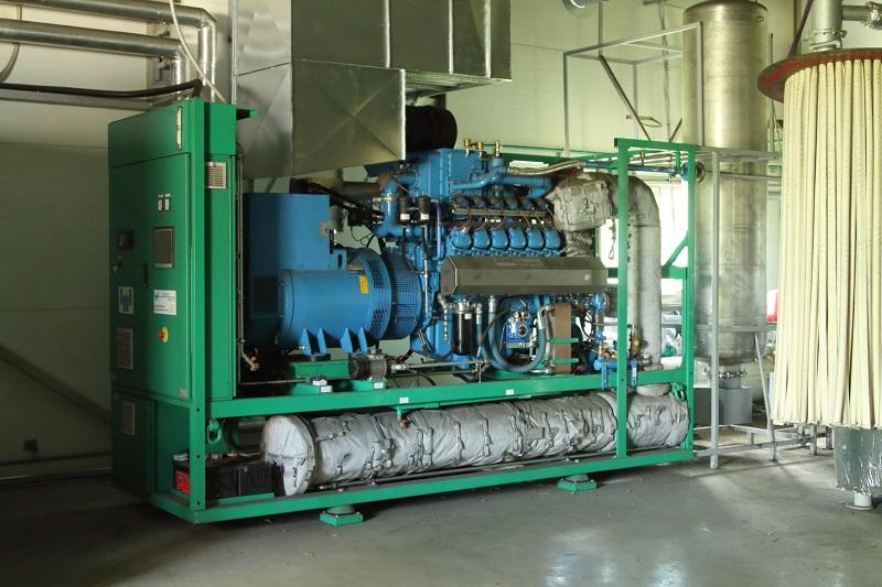 250kW CHP Cogeneration Biogas Power Plant