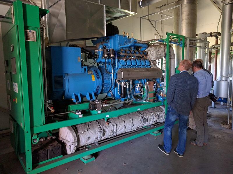 250 KW    V 50HZ CHP COGENERATION BIOGAS PLANT 165000EU-EU