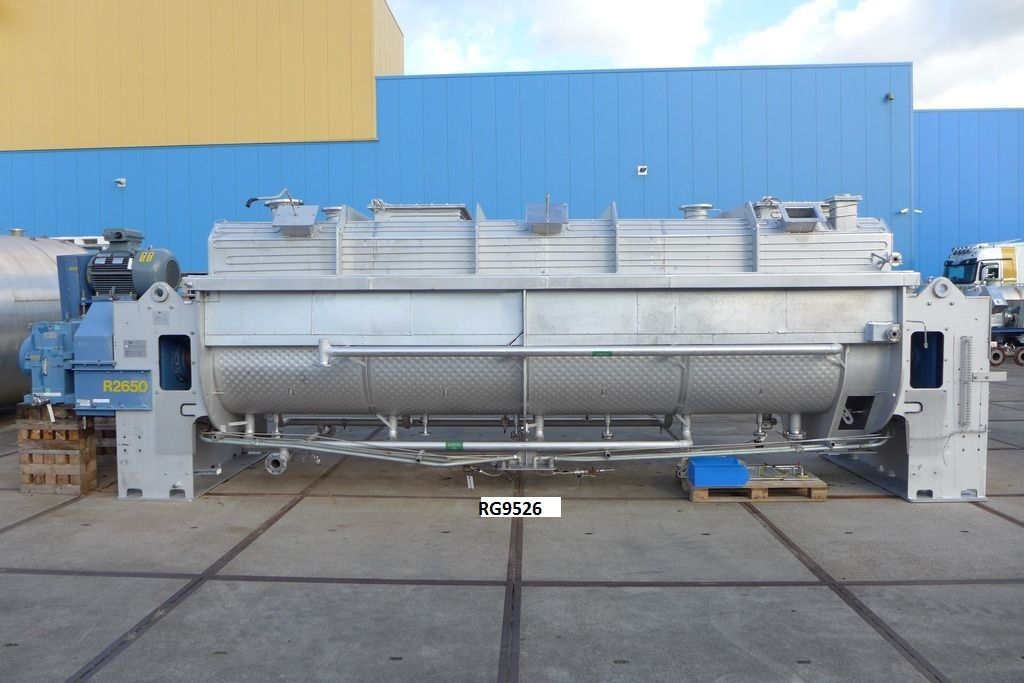 Goudsche Machinefabriek Stainless Steel Continuous Paddle Dryer