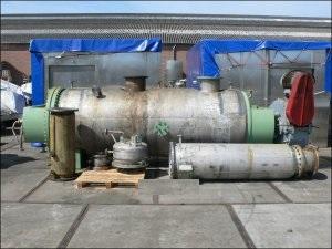 5920 Liter Kelzenberg + Co. Düren Stainless Steel Paddle Dryer
