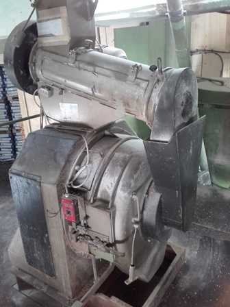 60 HP Andritz Model V3-75 Pellet Mill