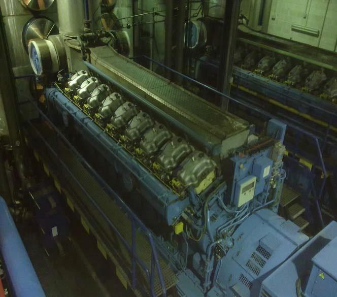 6600 kW 6000 Volts 50 Hz Cogeneration Plant