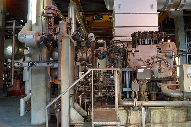 11.4 MWel, 43.1 bar Condensing Steam Turbine