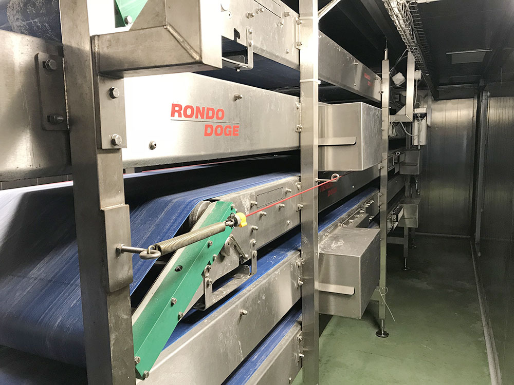 Pizza Production Line with Capacity 1000 Pizzas/Hour