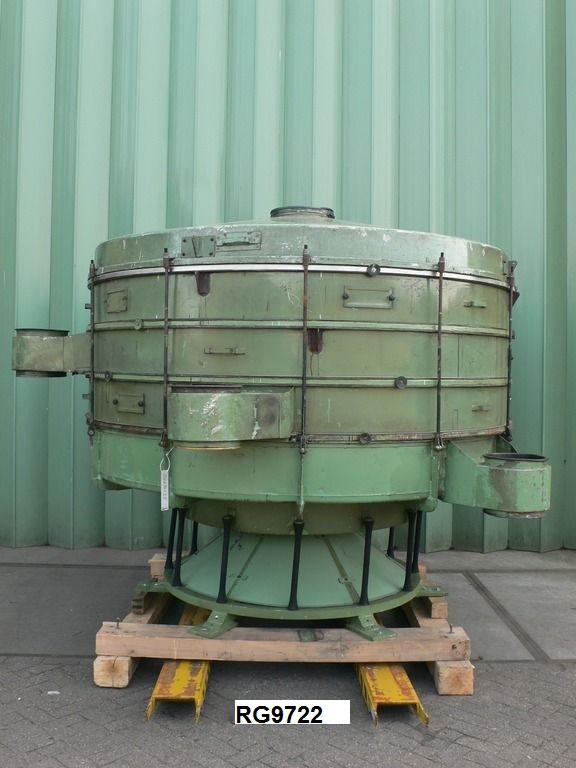 2600 mm, 4 Deck, Mild Steel Allgaier TSMH-2600/4 Screen