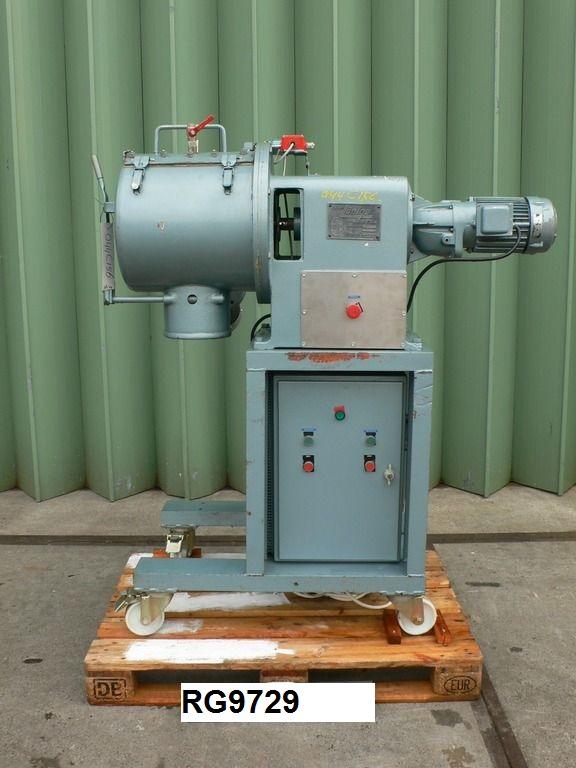 50 Litre Lödige FM-50E/1 MZ Stainlesss Steel Mixer